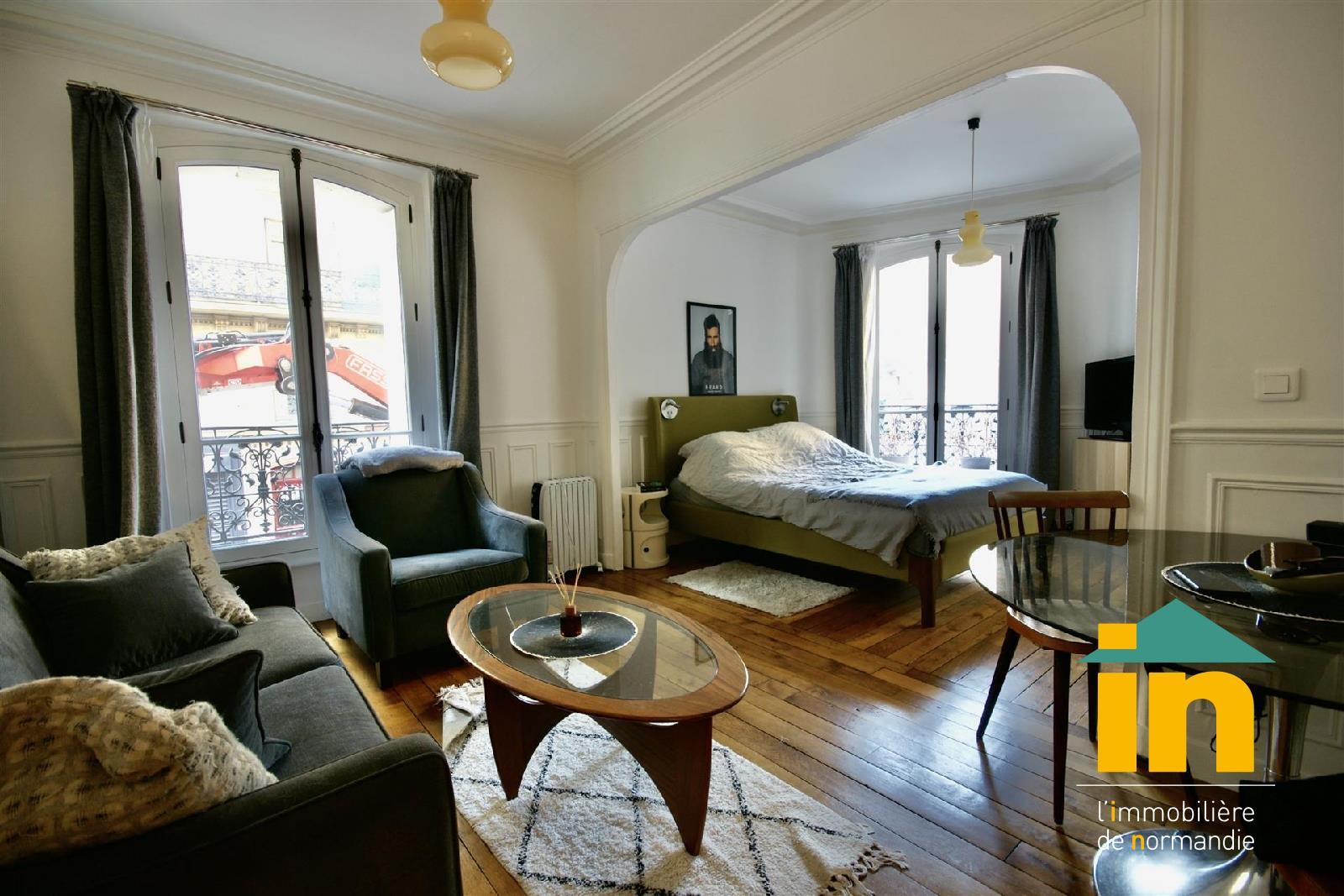 appartement 2 pièce(s) Paris 18